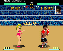 PUNCH-OUT!!ステージ