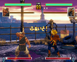 STREET FIGHTER V ABIGAILステージ