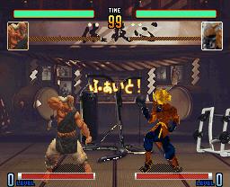 Street Fighter V DOJOステージ