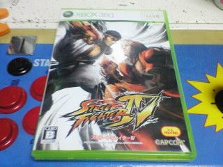 ストリートファイター4(Xbox360版)