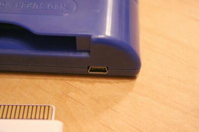 メガドラ用マジコン「MD 3in1 Myth flash cart」USBポート