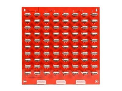 サンコー、USBポート80個の充電ボード