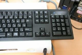 Xbox360にPS2キーボード