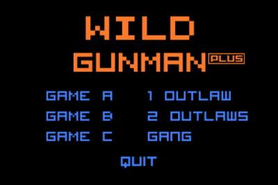 Original Wild Gunman