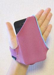 ポケット付き手袋:スマートフォンが入る「ワイプグローブ」発売
