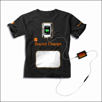 Orange Sound Charge T-Shirt