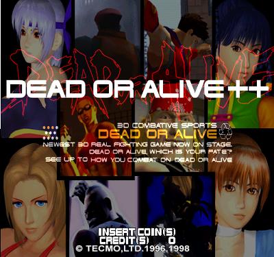 DEAD OR ALIVE++タイトル
