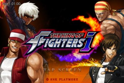THE KING OF FIGHTERS-i title
