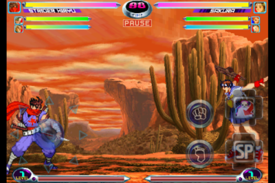 MARVEL VS. CAPCOM 2(iOS版) battle