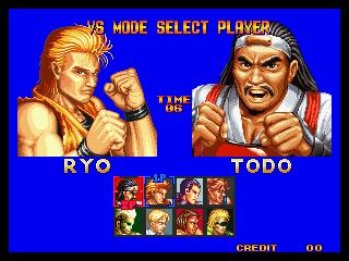 龍虎の拳 select