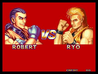 龍虎の拳 VS