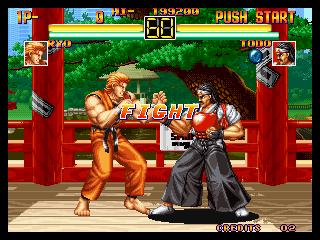 龍虎の拳 battle
