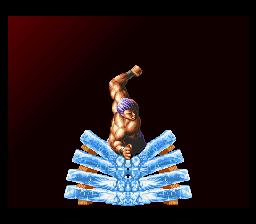 龍虎の拳(SFC版) demo2