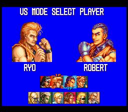 龍虎の拳(SFC版) select