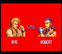 龍虎の拳(SFC版) VS