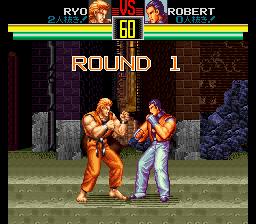 龍虎の拳(SFC版) battle