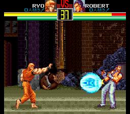 龍虎の拳(SFC版) battle2