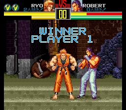 龍虎の拳(SFC版) Win