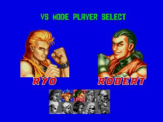龍虎の拳(MD版) select