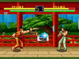 龍虎の拳(MD版) battle2