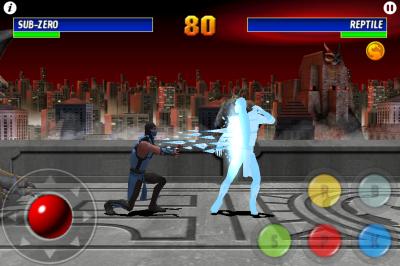 Ultimate Mortal Kombat 3 for iPhone battle2