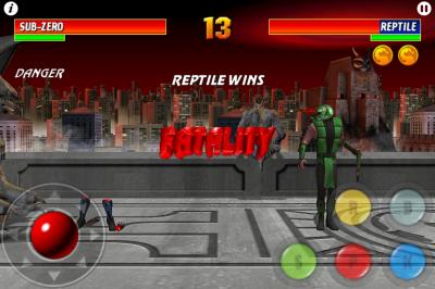 Ultimate Mortal Kombat 3 for iPhone win