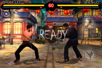 Bruce Lee Dragon Warrior(iPhone版) battle