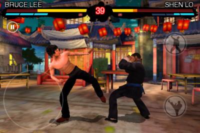 Bruce Lee Dragon Warrior(iPhone版) battle2