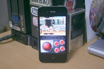 iPhoneで餓狼伝説スペシャル