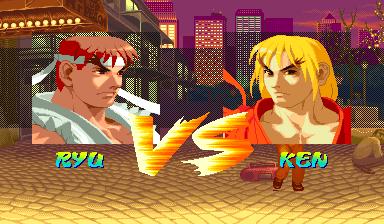 ストリートファイターZERO VS