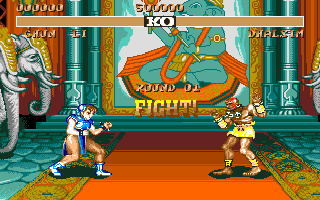 STREET FIGHTER II(AMIGA版) Fight