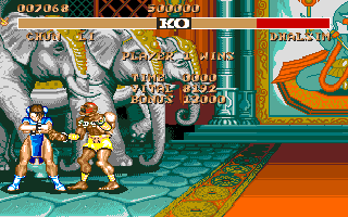 STREET FIGHTER II(AMIGA版) Win!