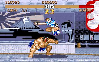 STREET FIGHTER II(AMIGA版) chunli04