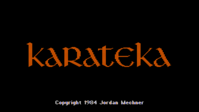 karateka classic title
