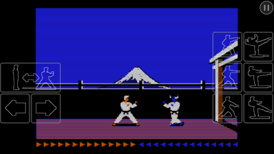 karateka classic battle