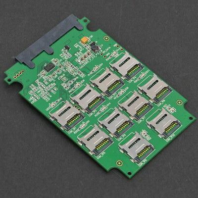10枚のmicroSDカードをSSD化するキット