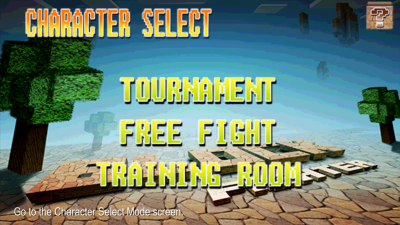 Block Fighter MODE Select