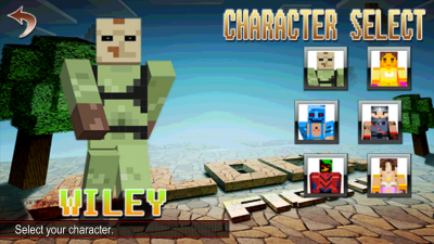 Block Fighter char select