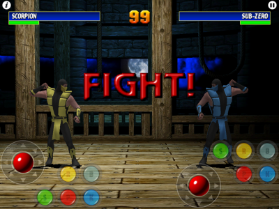 Ultimate Mortal Kombat 3 (iPad版) battle