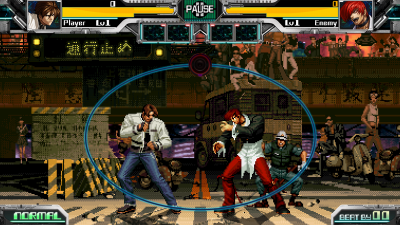 THE RHYTHM OF FIGHTERS battle02