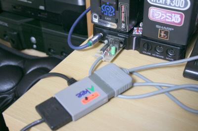 SHOCK MAT接続
