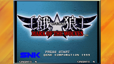 餓狼 MARK OF THE WOLVES (iOS版) title