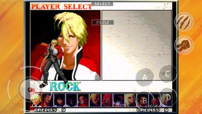 餓狼 MARK OF THE WOLVES (iOS版) select