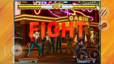 餓狼 MARK OF THE WOLVES (iOS版) fight