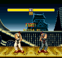STRONG FIGHTER II' FIGHT