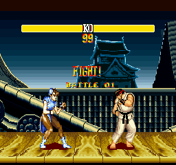 STRONG FIGHTER II' CHUNLI