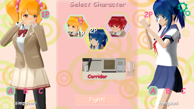 School Fighter Select01