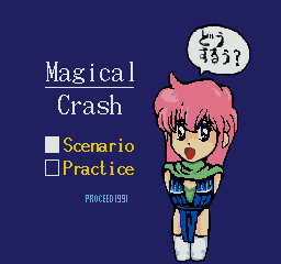 MagicalCrash mode select