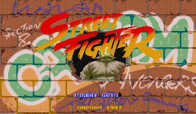 STREET FIGHTER title
