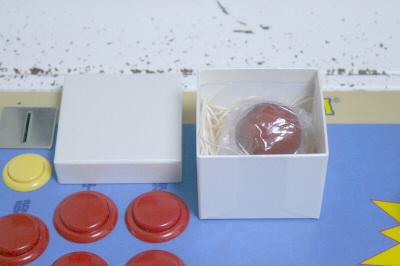 木製レバーボール 箱